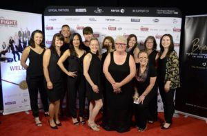 Our Fight To End Cancer support teams at the 2016 Fight To End Cancer Gala