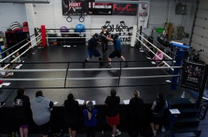 Participants were taught the rules and scoring for Olympic Style Boxing. The bouts that the FTEC Fighters will be demonstrating will be officially sanctioned by Boxing Ontario.