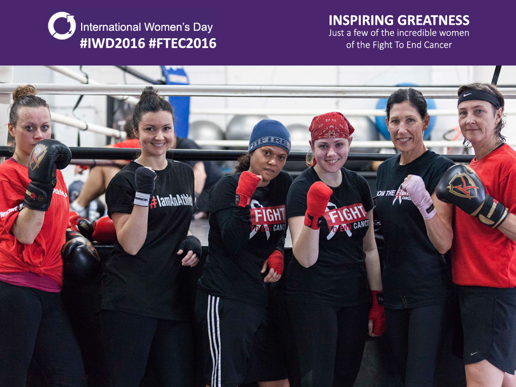 THE WOMEN OF FIGHT TO END CANCER