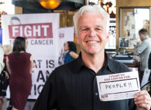 Fight To End Cancer Lead Partner, Jim Mosher of Landscape Plus, continues to fight for his community until we end cancer for good!