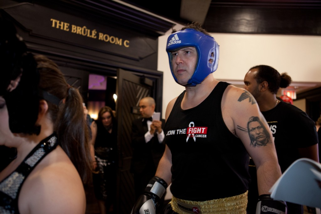2016 Fight To End Cancer Main Event, Craig Lauzon, moments before stepping into the ring on June 4, 2016 Photo Credit: Eric Tavares