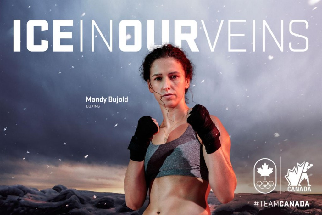 2016 Canadian Olympian Mandy Bujold will join Team Kingsway's Teen Girls Boxing on December 5, 2016.