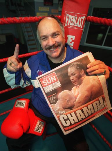 Adrian Teodorescu guided Lennox Lewis to a gold medal at the 1988 Seoul Games. (Craig Robertson/Toronto Sun files)