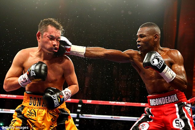 Getty Images: Guillermo Rigondeaux (right) outclassed the highly rated Nonito Donaire in New York in April 2013. The Cuban super-bantamweight, who won Olympic gold in 2000 and 2004, is undefeated as a professional.