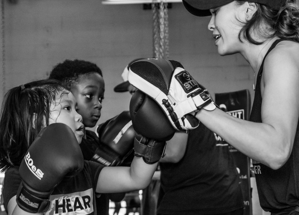 Photo By: Virgil Barrow | For the first time ever, Kingsway Boxing Club opened the kids boxing program to children as young as 6 years old... and they kicked butt!