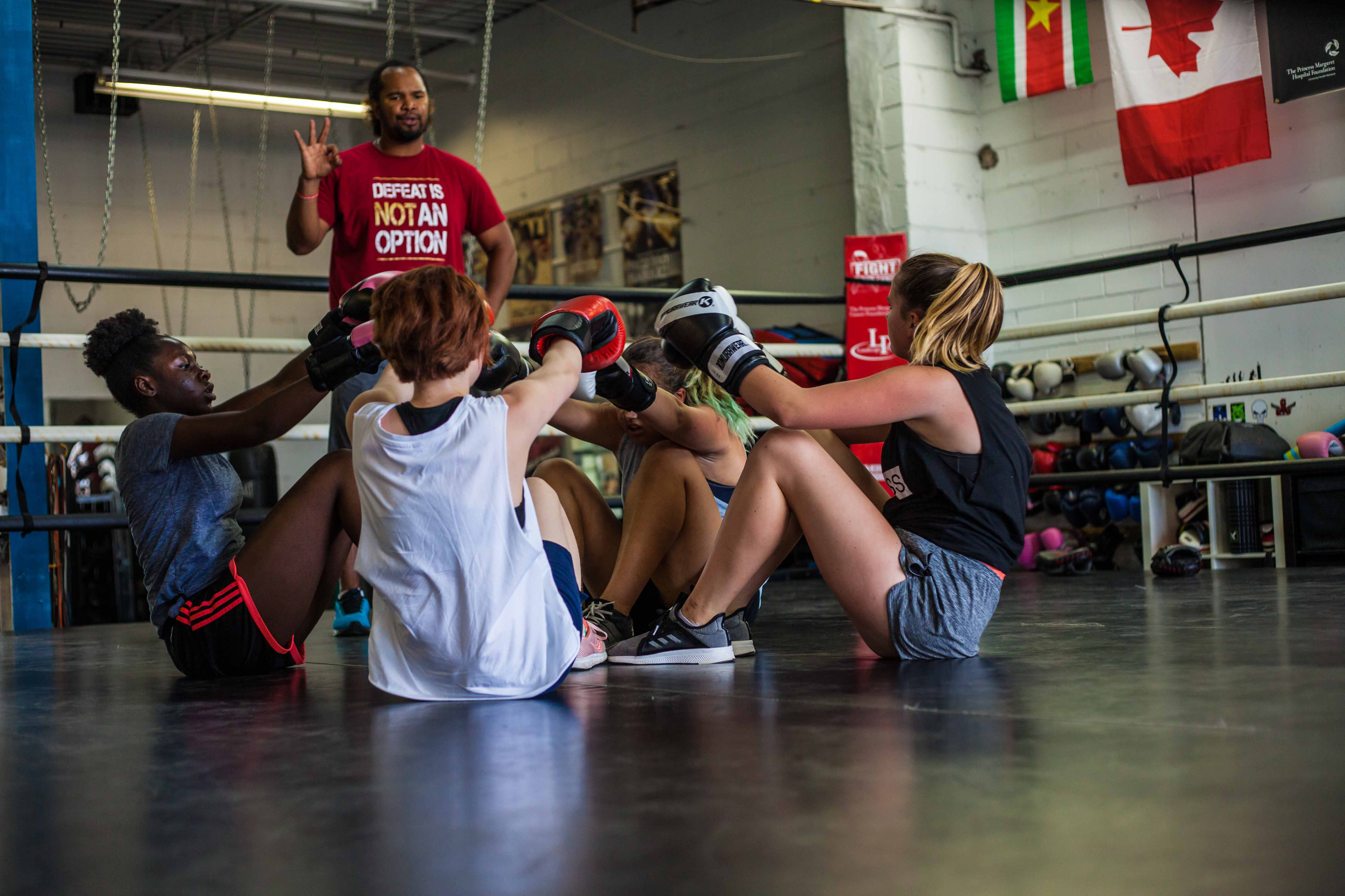 Baltimore boxing classes for kids, youth and adults