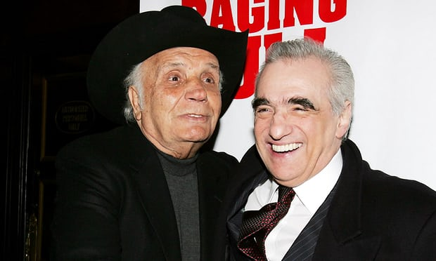 Jake LaMotta and Martin Scorsese LaMotta and the director of Raging Bull, Martin Scorsese, in 2005. Photograph: Allocca/StarPix/Rex/Shutterstock