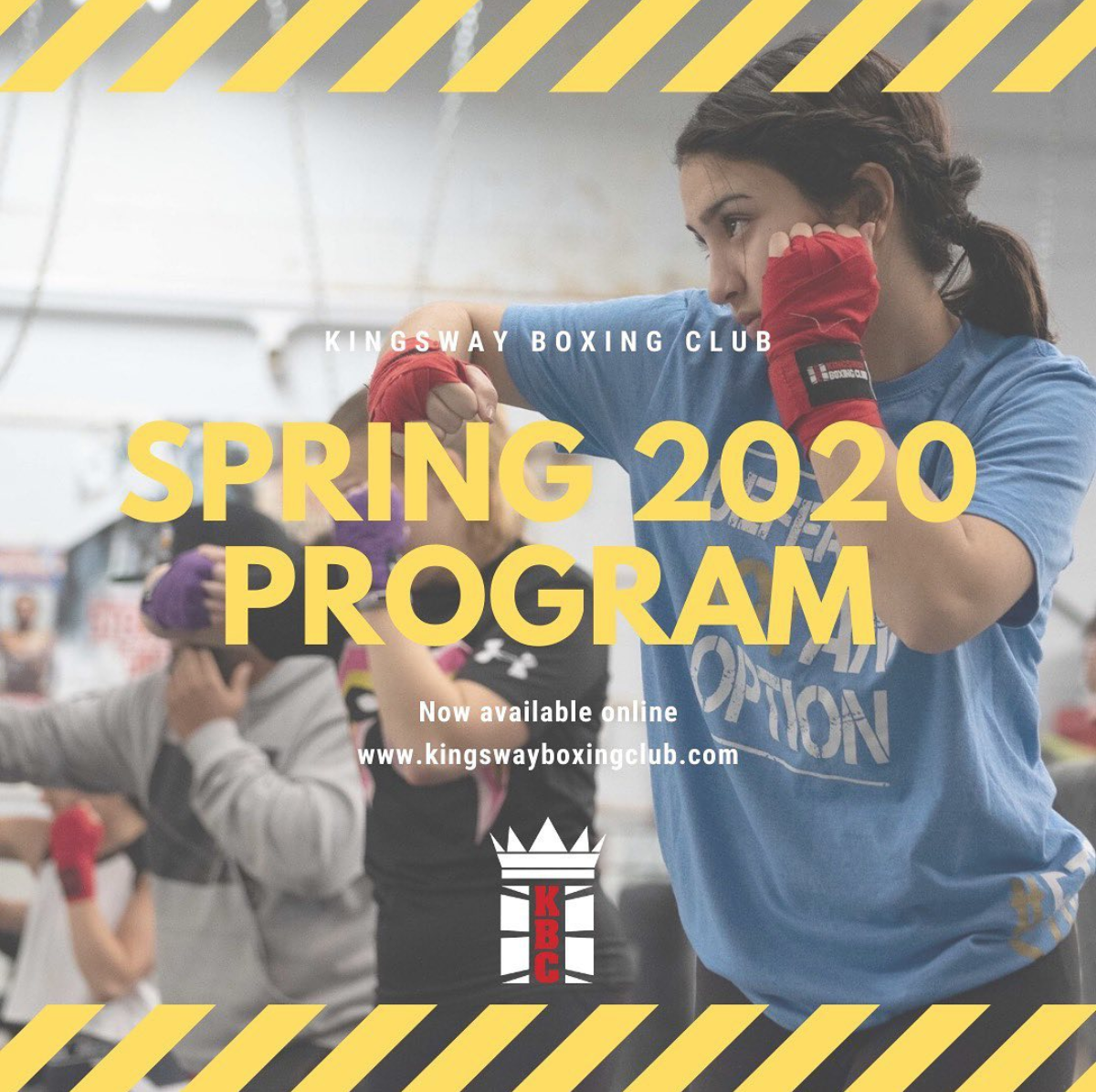 Spring is almost here & so are our Spring 2020 Programs