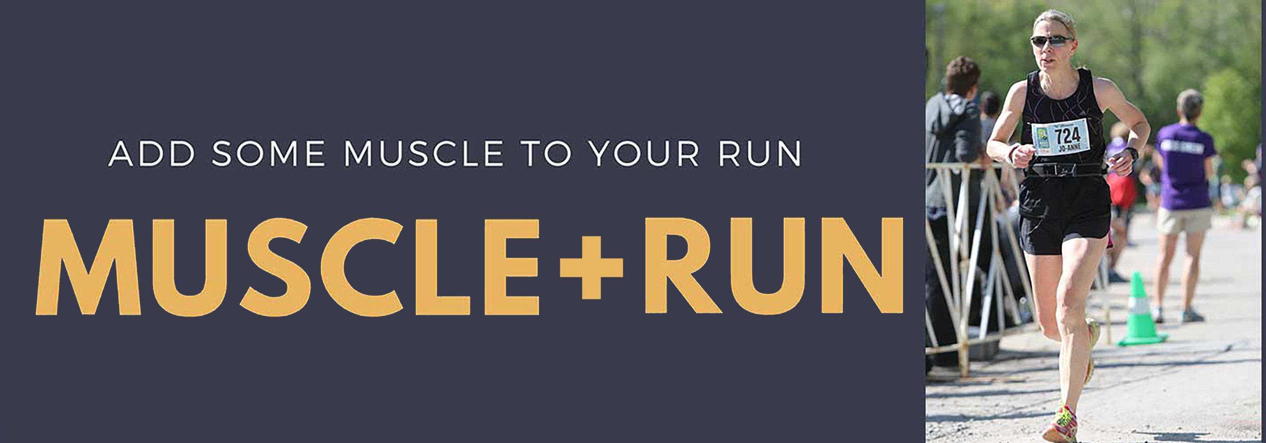 MUSCLE + RUN IS BACK WITH JO-ANNE SHEFFIELD