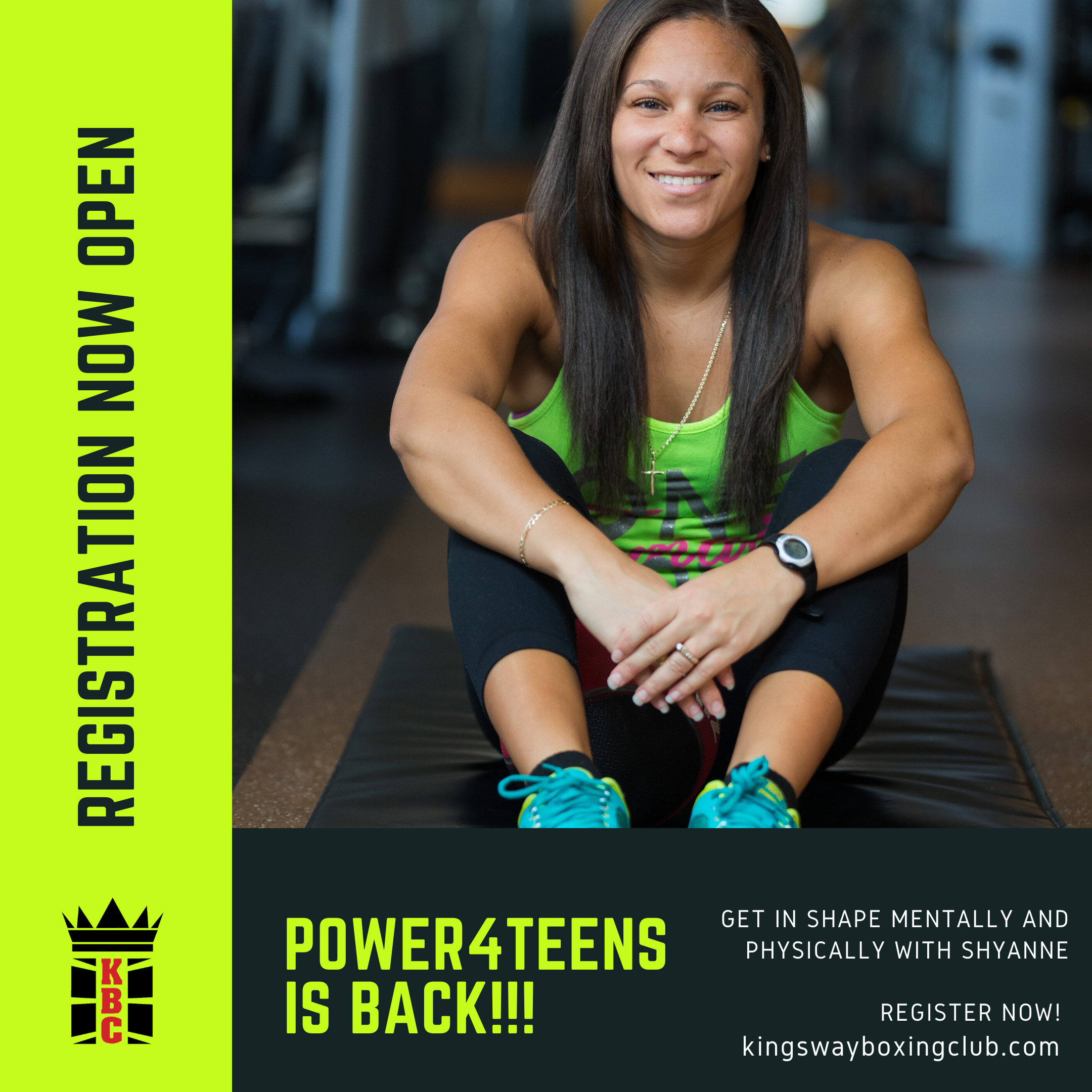 Power4Teens Is BACK! Limited Spots Available!