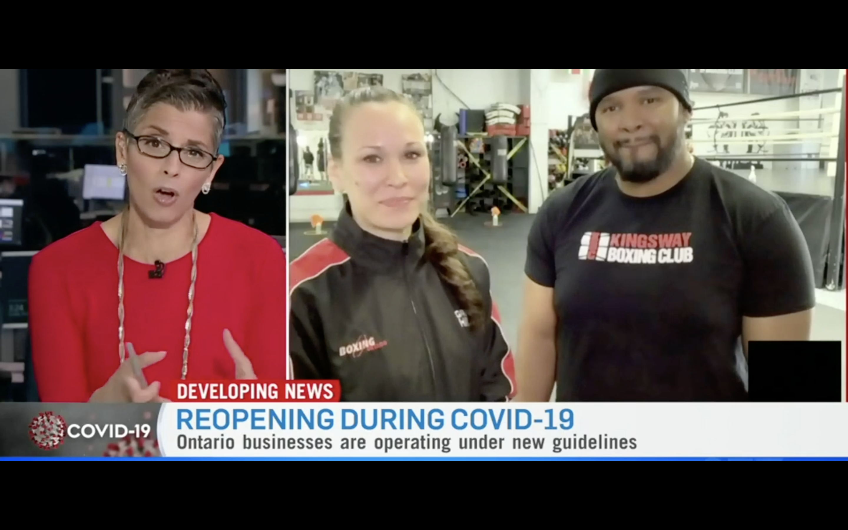 [CTV News Channel] Kingsway Boxing Re-Opens During COVID As The First Club In Toronto