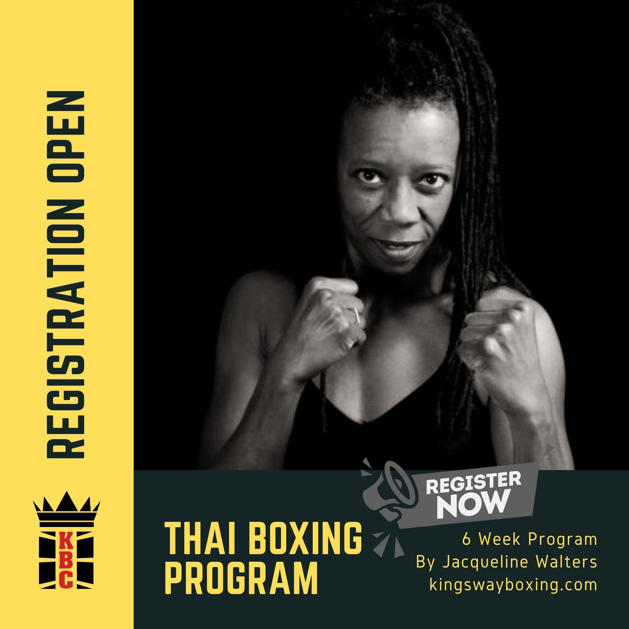 Proudly Introducing Thai Kickboxing By Jacqueline Walters