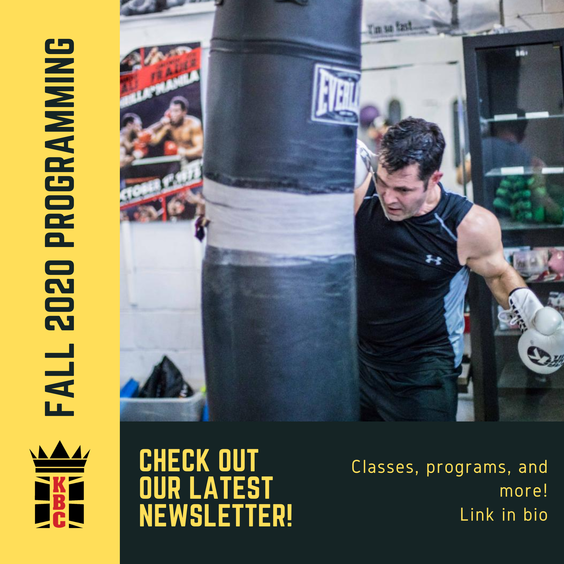 Our Fall Newsletter is LIVE!
