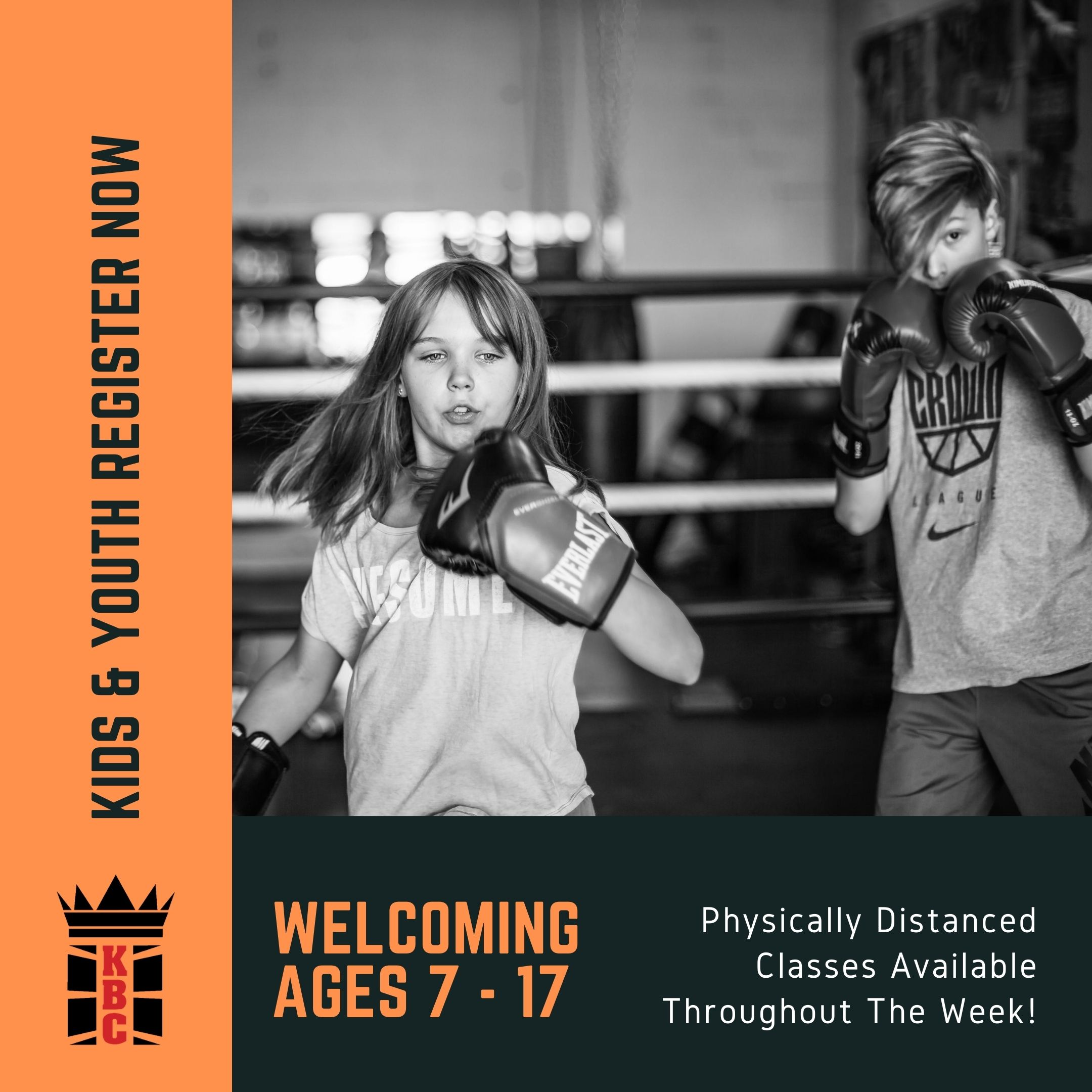 Calling All Kids & Teens – Boxing Is BACK! Kids 7+, Girls Only and Co-Ed Classes Now Available