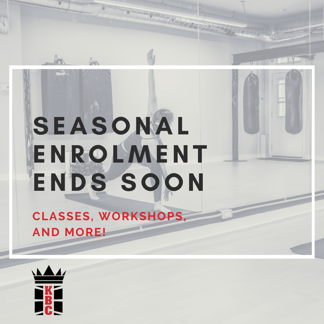 LAST CALL: Fall 2020 Kingsway Boxing Programming