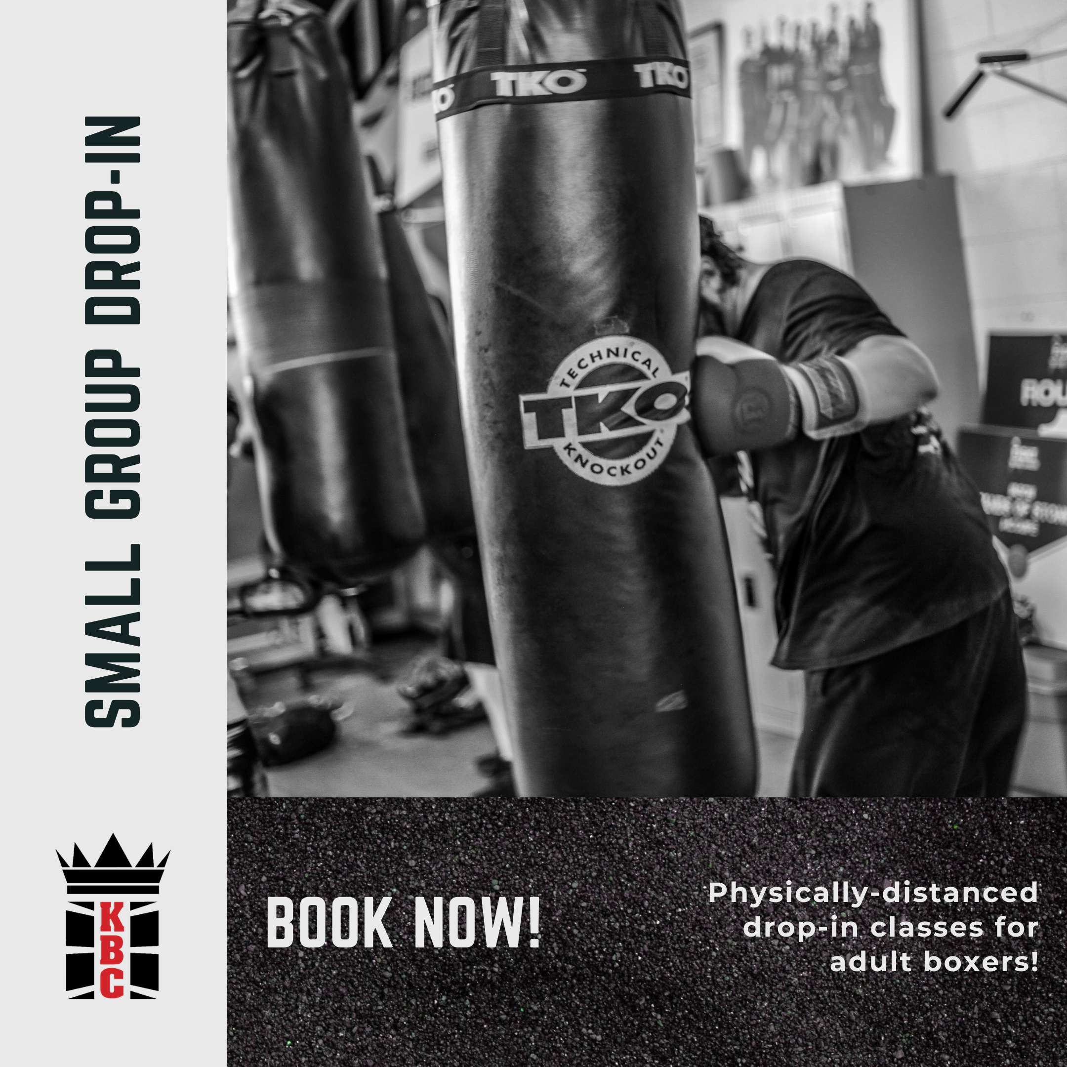 Small Group Adult Boxing Classes are HERE!