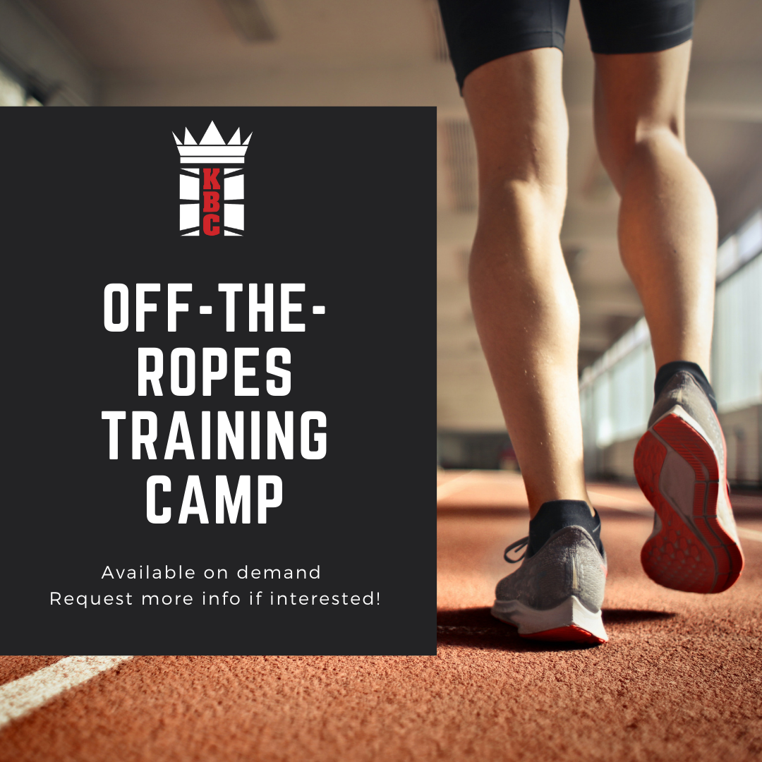 Introducing: OFF-THE-ROPES TRAINING CAMP!