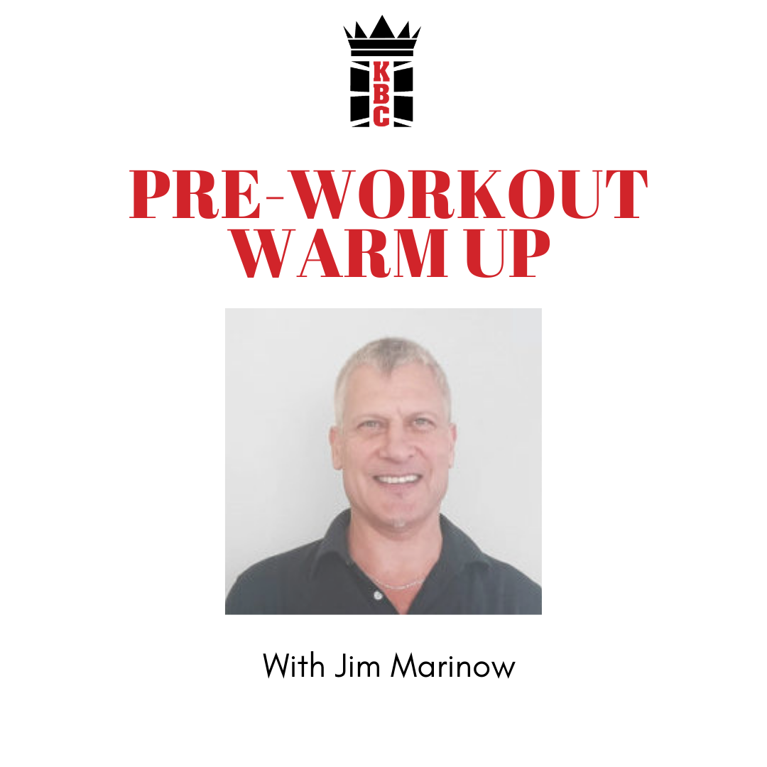 NEW: Pre-Workout Warm-Up Video From Jim Marinow!