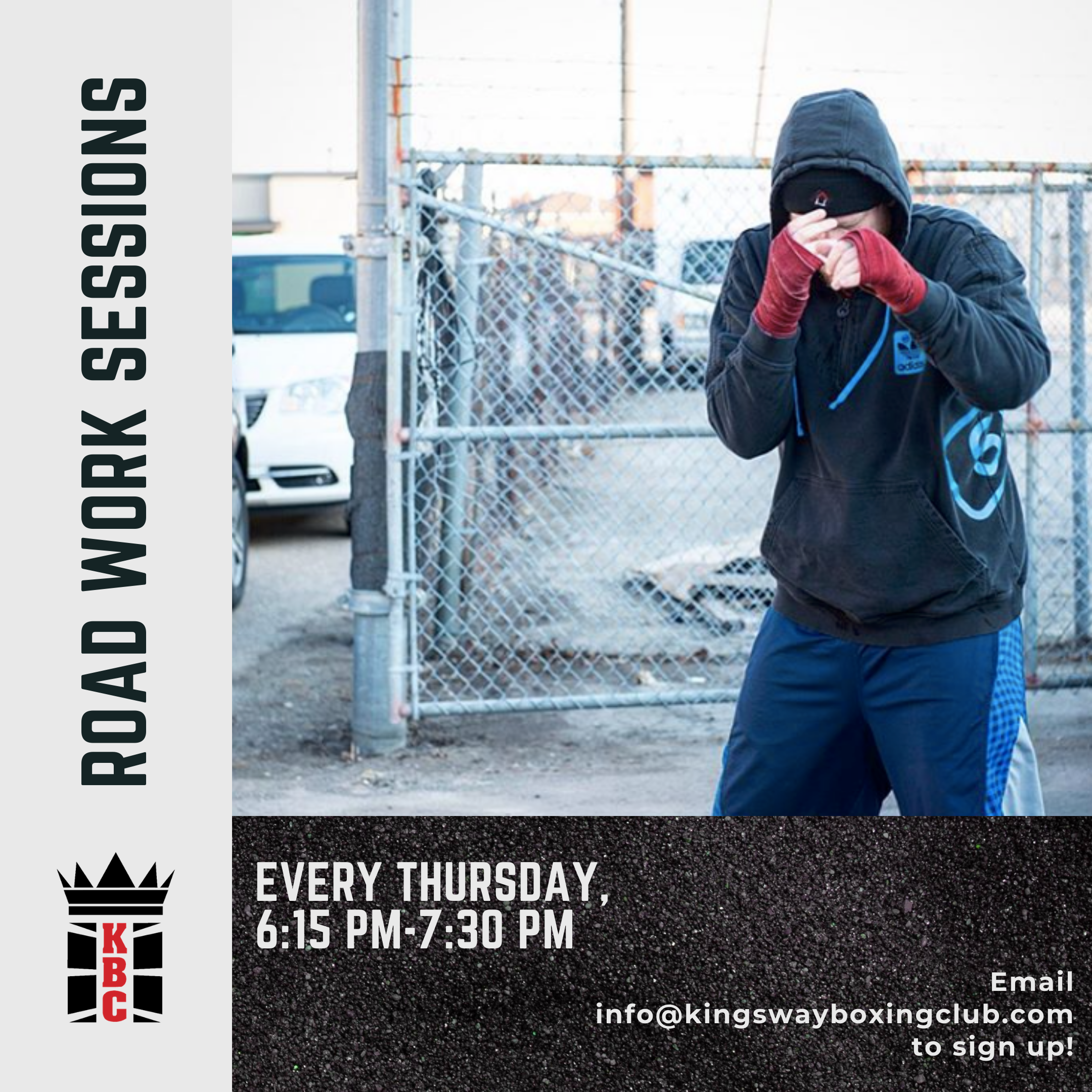 Thursday Night Road Work Sessions are HERE! ALL MEMBERS WELCOME!