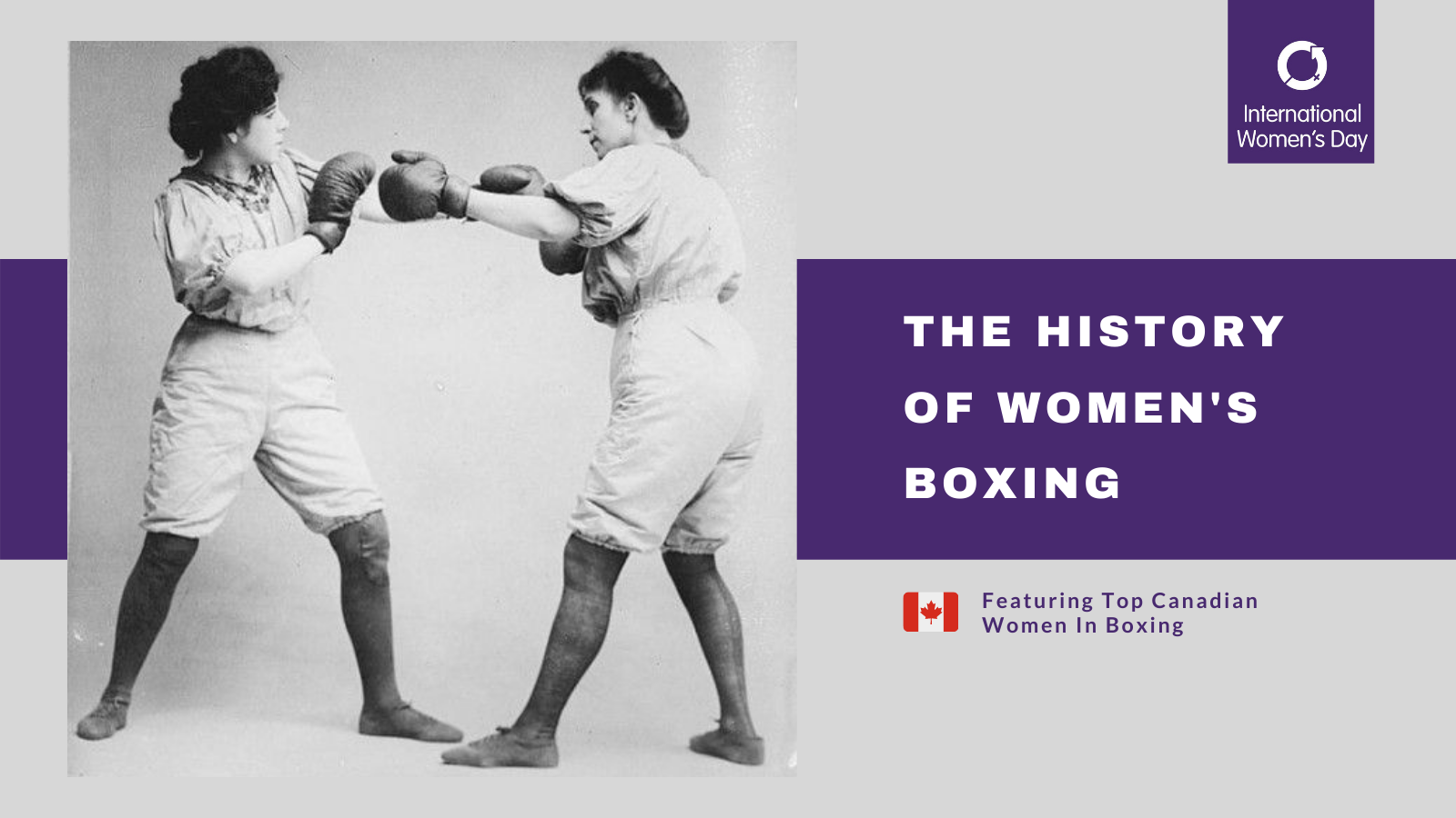 The History Of Women's Boxing